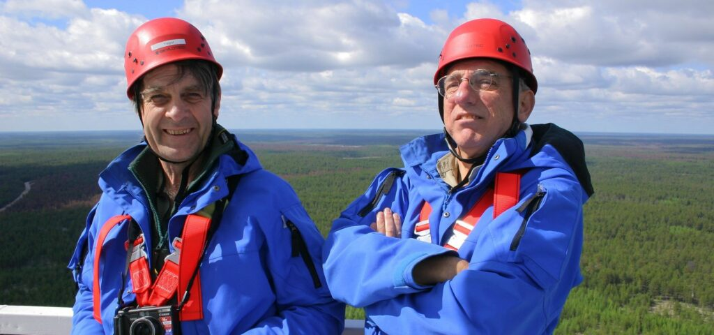 Pro. E.D. Schulze and Prof. M. Heimann from MPI_BGC Jena