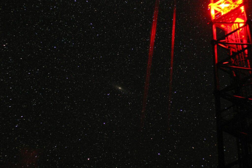 stars and lamps night shot near zotto