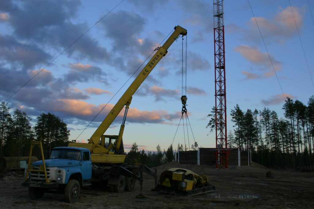 Zotto construction site in the evening